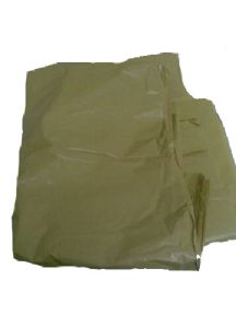 Yellow waste sacks, bin bags, bin liners and laundry bags.